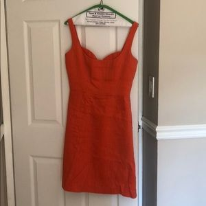 Milly cocktail dress with sweetheart neckline